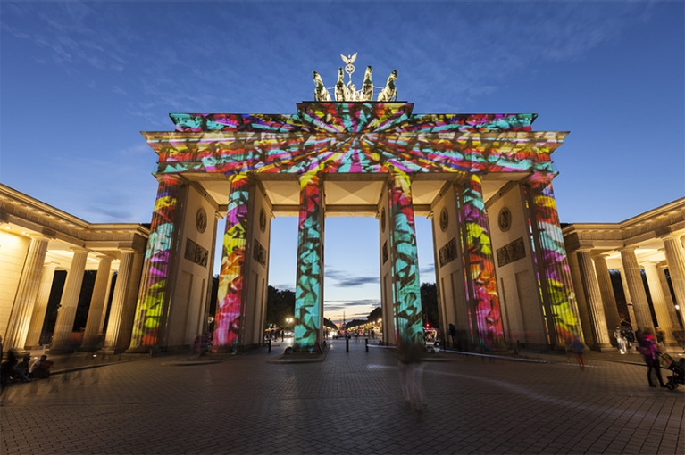 brandenburger tor disco