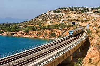 Greek trains