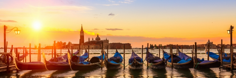 Sunrise over Venice