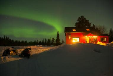 TOP 5 Europe Winter Destinations | Aurora borealis in Sweden