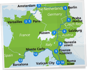 european_highlight_itinerary