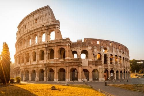 Fall destinations in Europe | Colosseum in Rome during fall