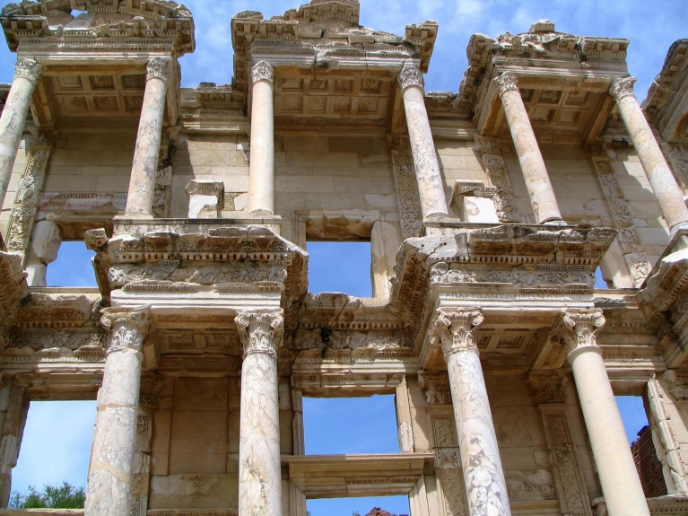 Library od Celsus in Ephesus