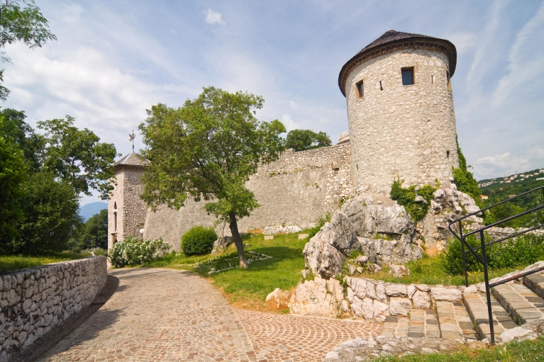 The Castle of Trsat in Rijeka