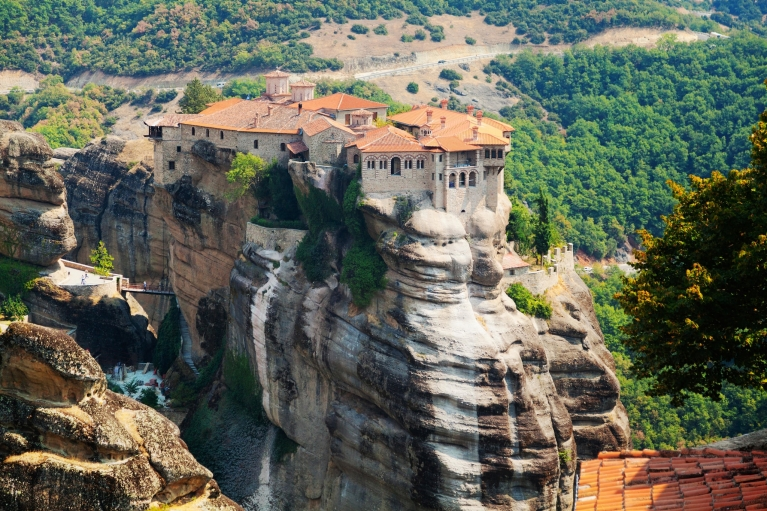 The Varlaam Monastery at Meteora