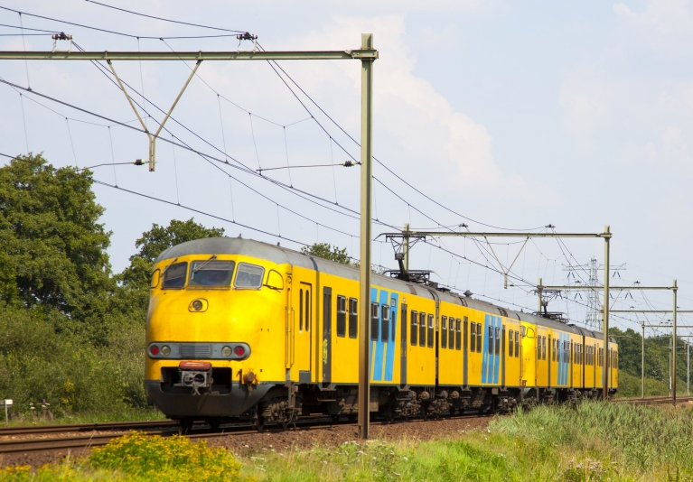 Dutch regional train