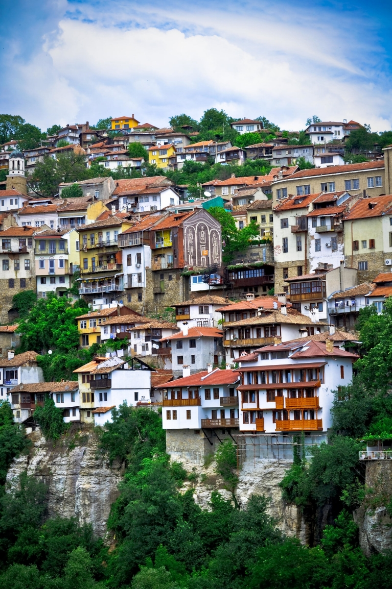 Ancient houses in Veliko Turnovo