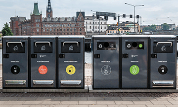 sweden-stockholm-recycling-trash-cans