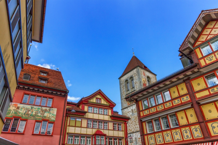 Appenzell village square