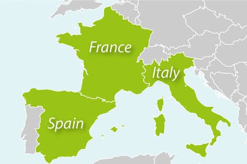 france_spain_italy_map